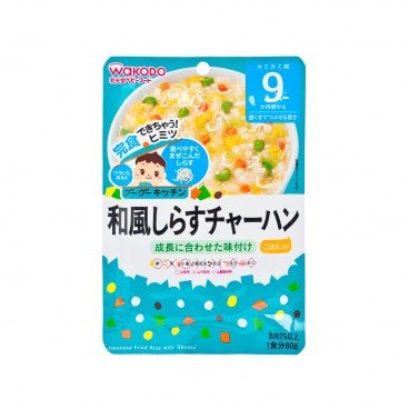 WAKODO - Japanese Fried Rice With Shirasu - 80G