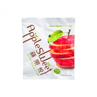 APPLE SWEET Dried Apple Chips soft 30G