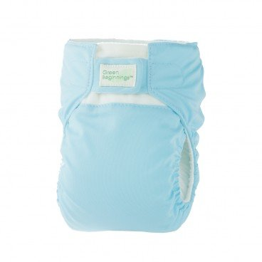 GREEN BEGINNINGS ® Diaper Cover Blue Large PC
