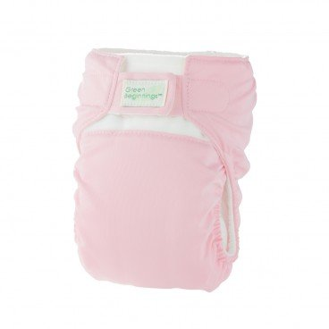 GREEN BEGINNINGS ® Diaper Cover Pink Large PC