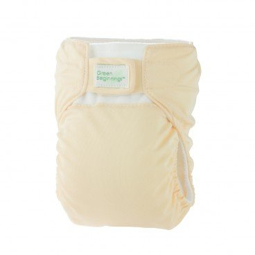 GREEN BEGINNINGS ® Diaper Cover Yellow Large PC
