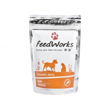 FEEDWORKS Chicken Jerky 80G