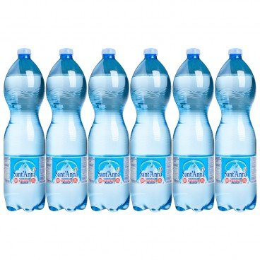 SANT' ANNA - Sparkling Mineral Water - 1.5LX6