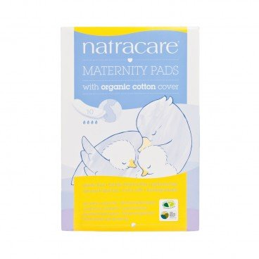 NATRACARE - Organic Cotton Maternity Pad - 10'S