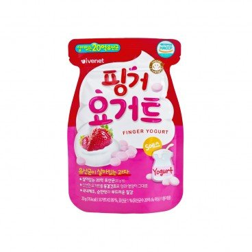 IVENET - Bebe Finger Yogurt strawberry - 20G