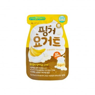 IVENET - Bebe Finger Yogurt banana - 20G
