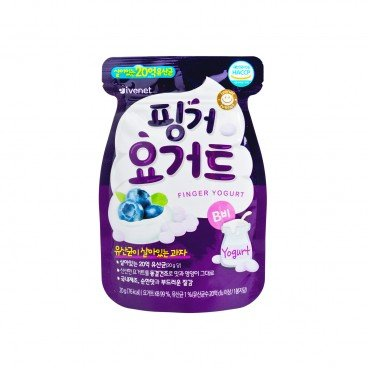 IVENET - Bebe Finger Yogurt bluberry - 20G