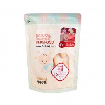 BEBEFOOD Bebefood Rice Rusk Apple 20G