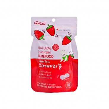 BEBEFOOD Bebefood Yogurt Berry Ball 17G