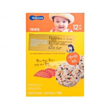 BEBECOOK Cooking Powder Salmon Cheese 28G