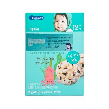 BEBECOOK Cooking Powder Squid  Seaweed 28G