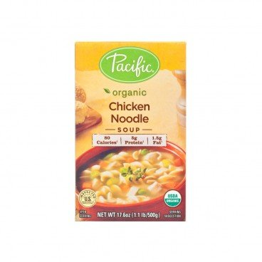 PACIFIC Organic Chicken Noodle Soup 17.6OZ