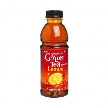 LOTTE - Ceylon Lemon Tea - 500ML
