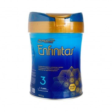 MEADJOHNSON - Enfinitas Stage 3 Milk Powder - 900G