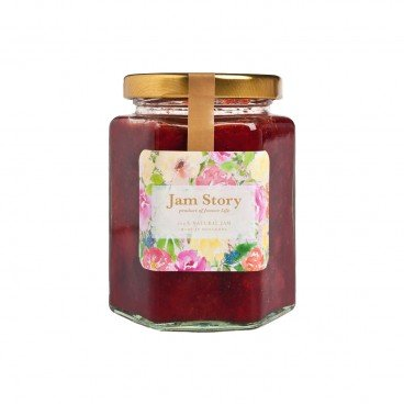JAM STORY - Organic Strawberry Rose Jam - 280G