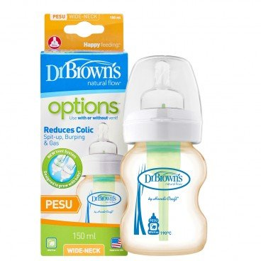 5OZ OPTIONS WIDE-NECK PESU BOTTLE