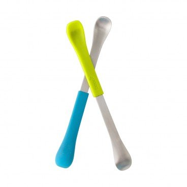 BOON Swap 2 in 1 Spoon teal blue 2'S