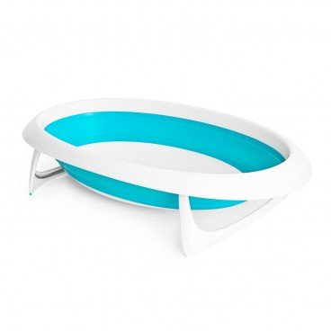 BOON Naked Collapsible Bathtub blue PC