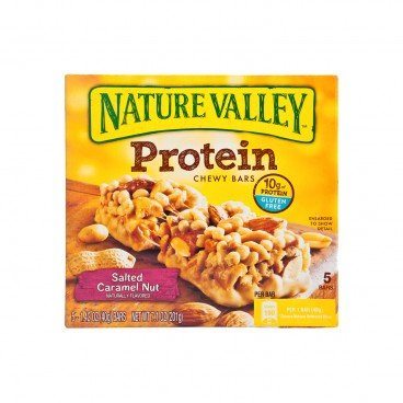 NATURE VALLEY - Protein Bars salted Caramel Nut - 40GX5