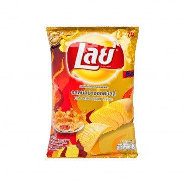LAY'S Potato Chips hot Chili Squid Flavored 50G