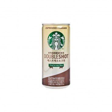 STARBUCKS Double Shot Espresso Cream 200ML