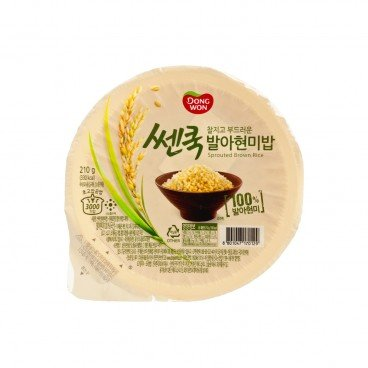 DONGWON - Instant White Rice brown Rice - 210G