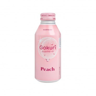 SUNTORY - Gokuri Peach Juice - 400ML