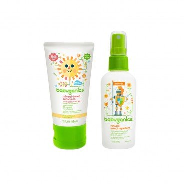 INSECT REPELLENT & SUNSCREEN MINI SET