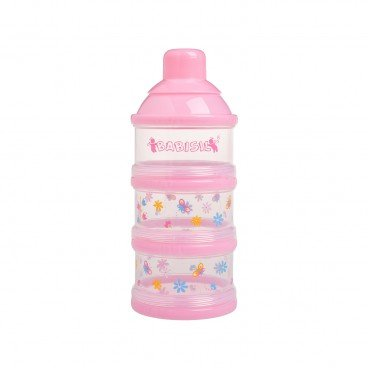 STACKABLE BABY FORMULA CONTAINER-PINK