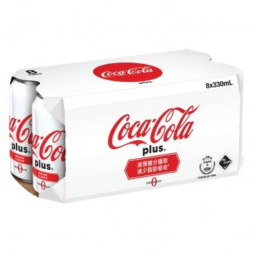 COCA-COLA - Coke Plus - 330MLX8