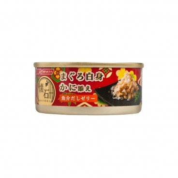 NISSHIN Kaisekikan Canned Crab Seafood Tuna Jelly 60G