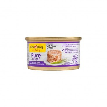 GIMDOG Little Darling Pure Delight Chicken With Tuna 85G