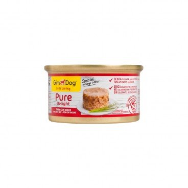 GIMDOG Little Darling Pure Delight Tuna With Beef 85G