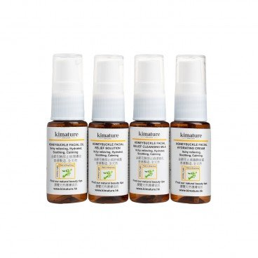 KIMATURE Honeysuckle Facial Relief Trial Set SET