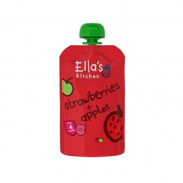 ELLA'S KITCHEN - Strawberries Apples - 120G