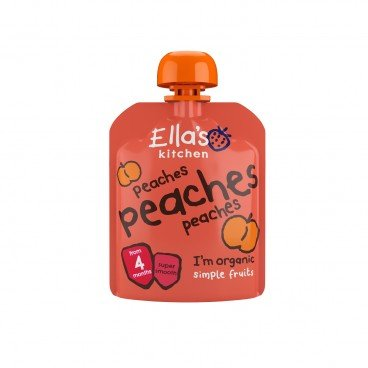ELLA'S KITCHEN - Organic Peaches Smoothie Fruit First Taste - 70G