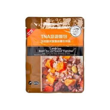 T.N.A Lamb With Brown Rice And Seasonal Vegetable 150G