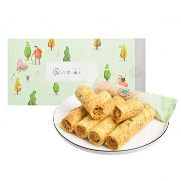 BLUE BIRD TRAVEL - Seaweed Flossy Pork Egg Rolls - 12'S