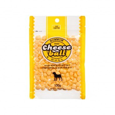 BOWWOW Cheese Ball 100G