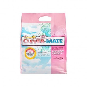CLEVER-MATE Baby Powder Scented 6.35KG