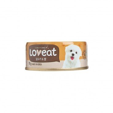 LOVEAT Chicken And Rice Can Food For Dog 90G