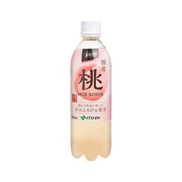 ITOEN - Soda peach Flavor - 450ML