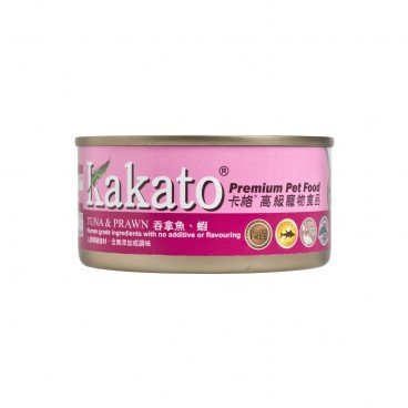 KAKATO Tuna Prawn For Cat Dog 170G