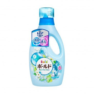 BOLD-LAUNDRY LIQUID DETERGENT-AQUA PURE CLEAN