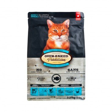 OVEN-BAKED TRADITION Adult Cat chicken Dry Food 5LB