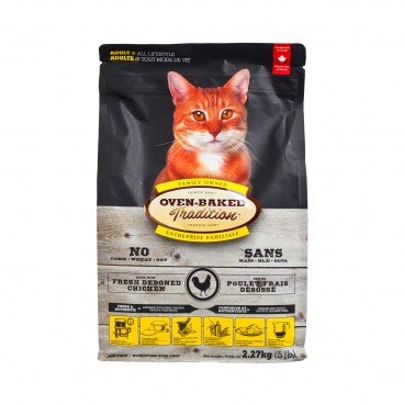 OVEN-BAKED TRADITION Adult Cat fish Dry Food 5LB