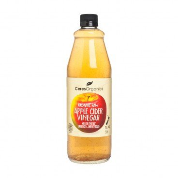 CERES ORGANICS New Zealand Organic Raw Apple Cider Vinegar 750ML
