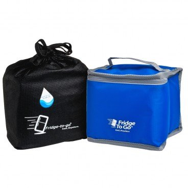 FRIDGE-TO-GO - Portable Cooler Bag Luncheon blue - PC