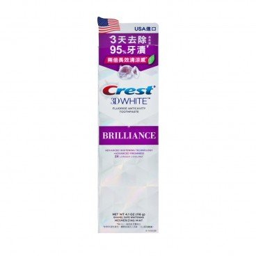 ORAL B - Crest White Brilliance mint - 116G