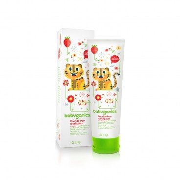 FLUORIDE FREE TOOTHPASTE- STRAWBERRY